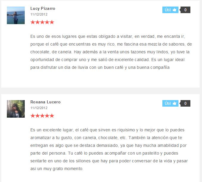 loogares starbucks reviews