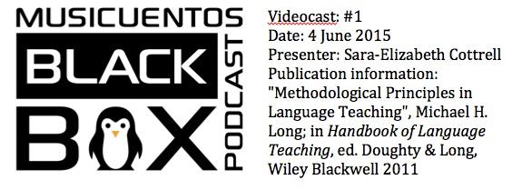 BB Videocast 1 info