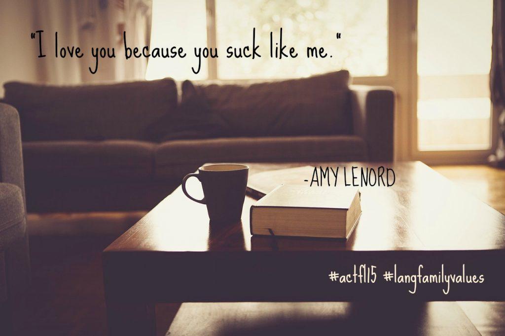 ACTFL quote AmyL