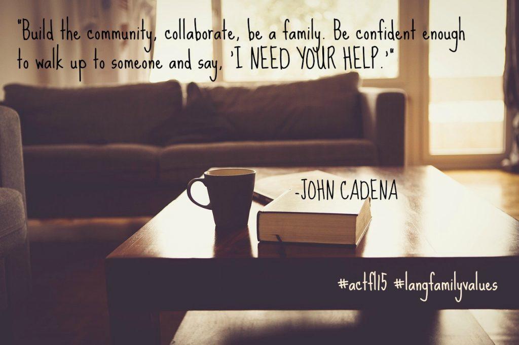ACTFL quote John