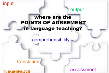 Where are the points of agreement in language teaching?