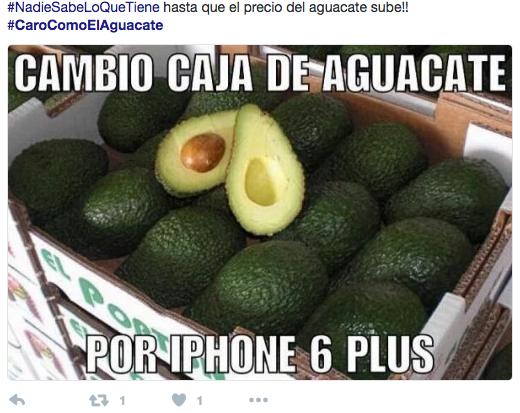 A fair trade: Box of avocados for an iPhone 6