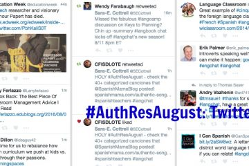 #AuthResAugust: The power of Twitter
