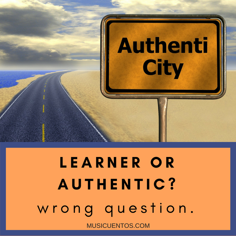 learner or authentic
