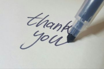 The Power of Thank You (and what you read most)