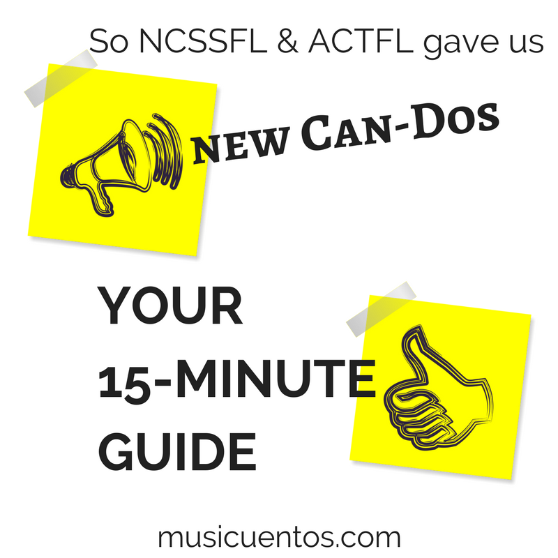 So ACTFL gave us new Can-Dos (2)