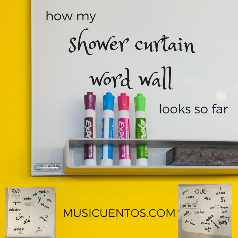 shower curtainword wall