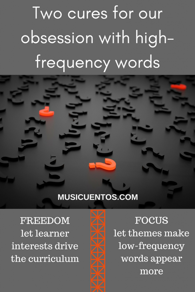 Two cures for our obsesson with high-frequency words