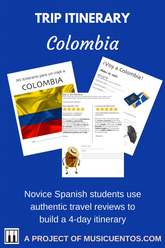 Itinerary Colombia